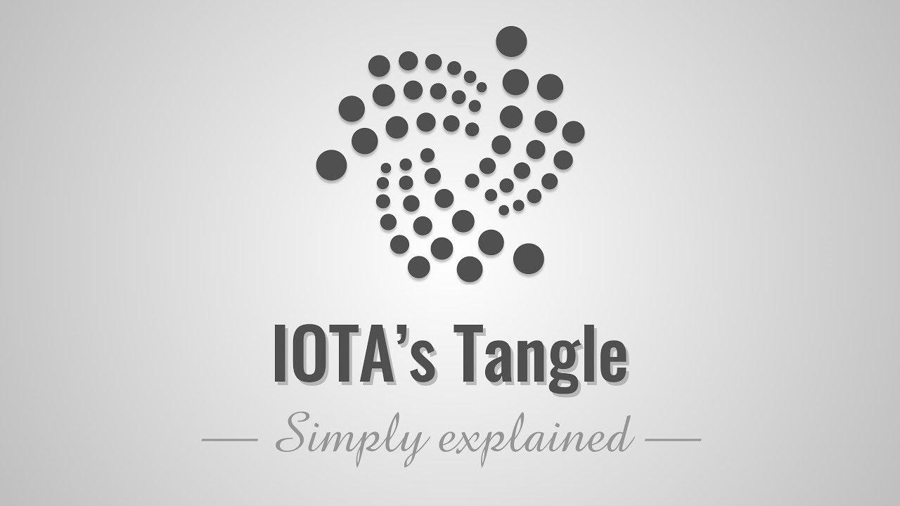 IOTA's Tangle - Simply Explained