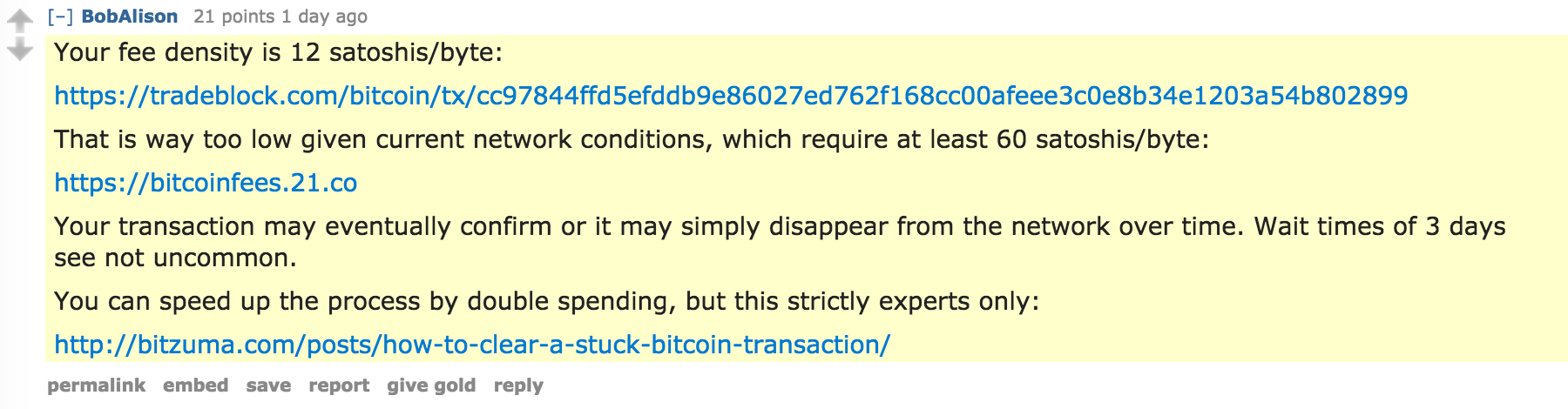 The True Cost of Bitcoin Transactions