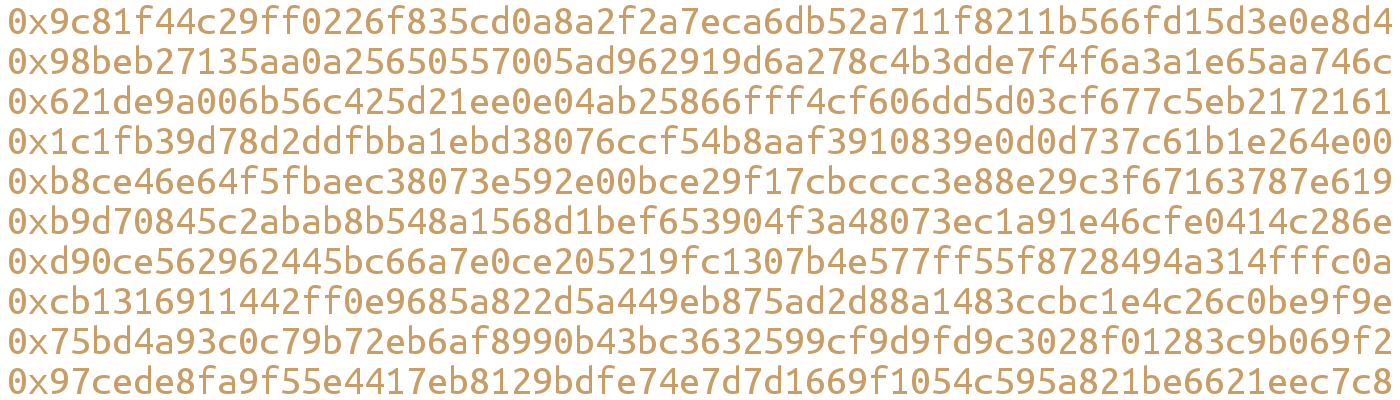 Inside an Ethereum transaction